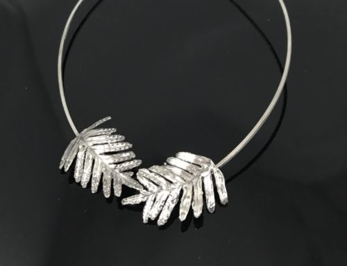 Sterling Silver Resurrection Fern Necklace
